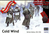 Master Box 35103 WWII German Infantry : Cold Wind (1941-1942) plastic kit 1/35