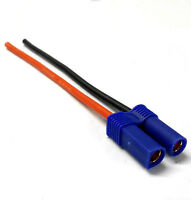 EC5BF14-10 RC Female Compatible EC5 Plug Battery Connector Wire 14AWG 10cm Long