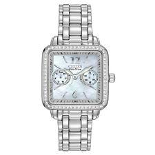 Citizen Eco-Drive Women's FD1040-52D Silhouette Square MOP Dial Bracelet Watch