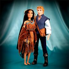 New Disney Pocahontas & John Smith Fairytale Collection w/Tote Limited Edition
