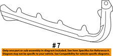 Dodge CHRYSLER OEM 11-14 Avenger Rear Bumper-Side Bracket Left 68081563AD