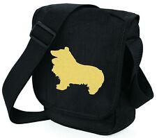 More details for sheltie shetland sheepdog bag dog walkers bags shoulder bag birthday mothers day