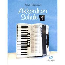 Neue Holzschuh Akkordeon Schule Band 1 -  VHR 401