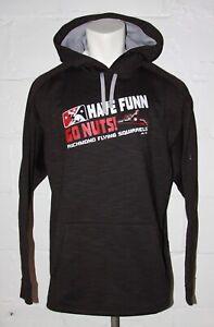 EUC Majestic Therma Base Richmond Flying Squirrels Hoodie Hooded Sweatshirt XXL