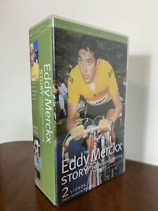 THE EDDY MERCKX STORY CASSETTE TAPE / VHS BOX SET -THE GREATEST CYCLING CHAMPION