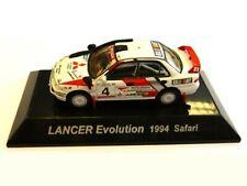 WOW EXTREMELY RARE Mitsubishi Lancer Evo1 Safari Rally 1994 WRC 1:64 CM's Kyosho