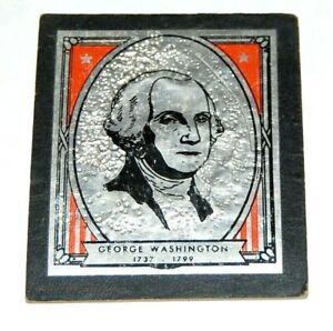 late 1800's GEORGE WASHINGTON Cardboard Photo photograph portrait presidential