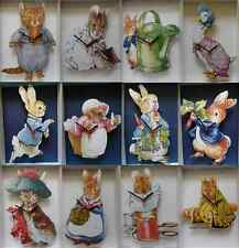 BEATRIX POTTER CHARACTERS WALL CLOCK.12 DESIGNS TO CHOOSE FROM.NEW. PETER RABBIT