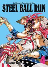 Manga - Star Comics - JoJo - Steel Ball Run New Edition 4 - Nuovo !!!
