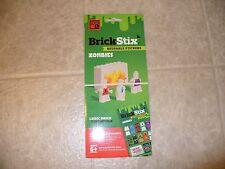 Brick Stix Lego Reusable Stickers Zombies.