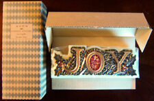 "1999 Avon ""Joy"" Festive Centerpiece ~7"" Candle - Brand New, Sealed!"