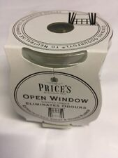 Prices Jar Candle - Open Window Scent- Lily, Violet & Orange Aust Stock