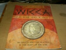 Wicca A Year And A Day by Timothy Roderick Softcover Book, Good-Shape,2015.