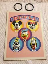 Vintage Hoop-la Game - Disney (Mickey, Minnie Donald Pluto & Goofy) - No box