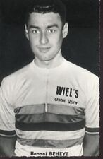 BENONI BEHEYT Cyclisme 60s Cycling WORLD CHAMPION Wiel's Brasserie wielemans