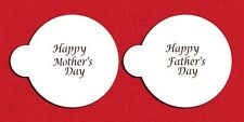 Happy Mother's/Father's Day Cookie Stencils by Designer Stencils #C498