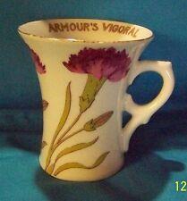 1900s ARMOUR'S VIGORAL CUP Carnation Floral ALTROHLA AUSTRIA Advertising 3.50