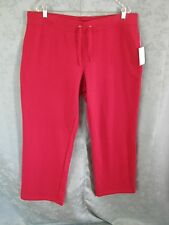 Made for Life Size XL Red Lounge / Workout Pant New with Tags