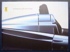 FERRARI 360 SPIDER CAR SALES BROCHURE. 2000.