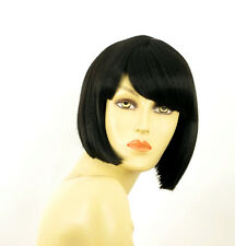 Perruque femme courte brun foncé MAIA 2