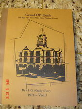 1974 TEXANA ERATH COUNTY TEXAS HISTORY STEPHENVILLE OUTLAWS POLICE INDIANS MASON
