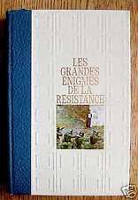 LES GRANDES ENIGMES DE LA RESISTANCE - 1969