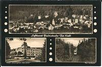 Ansichtskarte Friedrichroda - Thüringer Waldbahn, FDGB-Heim Herm. Danz, Ort s/w