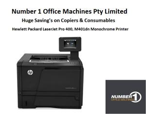 HP LaserJer Pro 400, M401dn Mono Network Printer,Mobile Print, 6 Months Warranty