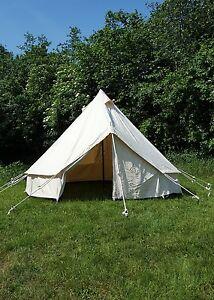 Mittelalterzelt LARP Zelt 3 x 3 m