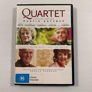 Quartet (DVD 2013) Billy Connolly Maggie Smith Region 4