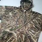 Realtree Men's Size XL Fleece Camouflage Hunting Pullover Hoodie