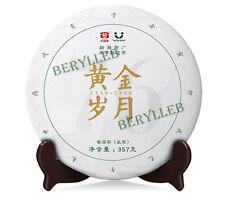 Golden Age * 2016 Yunnan Menghai Dayi Anniversary Raw Pu'er Tea Cake 357g