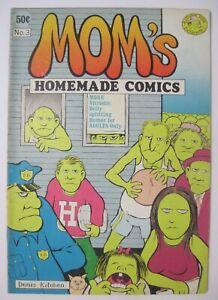 MOM'S HOMEMADE COMICS #3 KITCHEN SINK UNDERGROUND COMIX 1971 DENIS KITCHEN