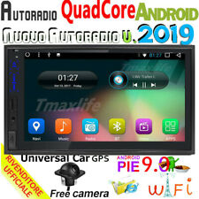 """Car Radio Stereo 7"""" Smart Android 9.0 IPS WiFi 2DIN Player GPS DAB Mirror Link"""