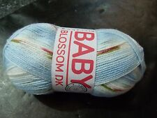 Hayfield Baby Blossom Double Knitting Yarn Shade 0351 Bluebell