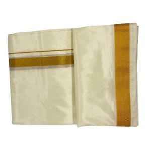 Men's Asha Silk Veshti / Dhoti / Verti Tamil or South Indian Wedding Wear