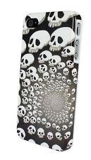 PB3 Popular Multiple Skulls Iphone 4S Punk Rock Goth Hard Plastic Case *SALE*