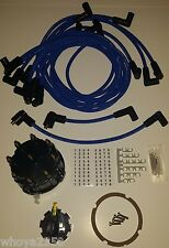 Mercruiser Tune-Up Kit Thunderbolt V8 Cap, Rotor & Wires Free Fast Shipping