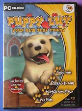 PUPPY LUV YOUR NEW BEST FRIEND PC CD-ROM GAME brand new & sealed UK ORIGINAL