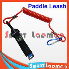Kayak Paddle Leash Compass Canoe Fishing Rod Boating Safety Coiled Lanyard