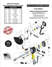 Seal Kit - Stanley GR-29 Hydraulic Underwater Grinder Kit No. 16969 (PACK OF 10)