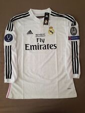 Real Madrid Ronaldo Super Cup Final Jersey Shirt 14/15 Adizero Bale Benzema