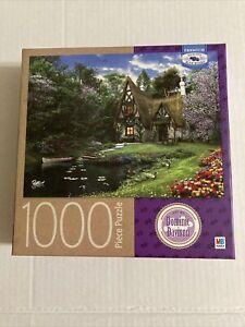 MB Hasbro Puzzle Spring lake Cottage 1000 Piece Dominic Davison New Sealed