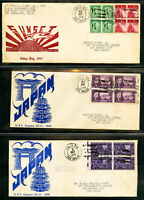 US Navy & Air Mail 1940's Stamp Covers
