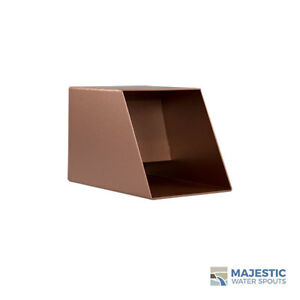 """Cecetto 4"""" Water Fountain Spout Scupper for Pool Fountain Pond Feature - COPPER"""