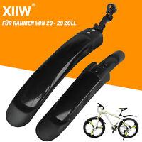 Fahrrad Schutzblech Spritzschutz e-Bike 29 26 28 Zoll MTB Set Vorne Hinten Rad