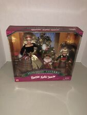 1998 Barbie Kelly Stacie Special Edition Holiday Sisters Christmas Gift Set NRFB