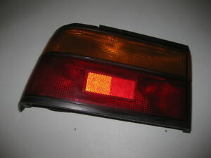 1986 - 1987 Honda Accord Left Tail Light Housing - Original Equipment (OE)