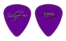 Wynonna Judd Signature Clear Purple Guitar Pick - 1999 Tour