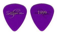 Wynonna Judd Signature Clear Purple Guitar Pick - 1999 Tour